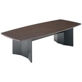 応接用大型テーブル パネル脚